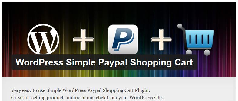 Free WordPress Plugin: WordPress Simple Paypal Shopping Cart ...