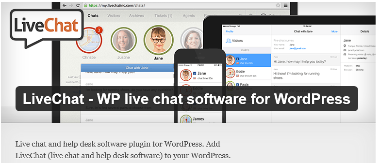 livezilla help desk software plugin wordpress
