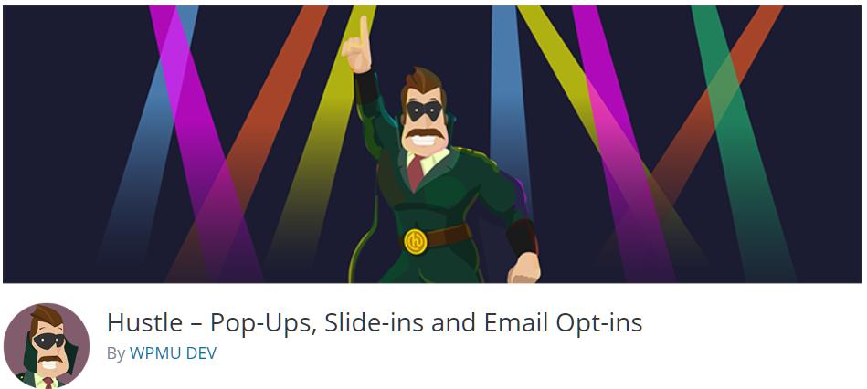 Free WordPress Plugin: Hustle – Pop-Ups, Slide-ins and Email