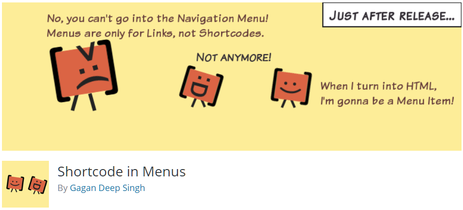 Free WordPress Plugin: Shortcode in Menus | Doteasy