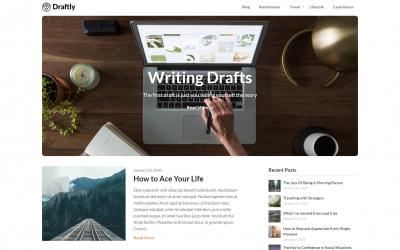 Free WordPress Theme: Draftly