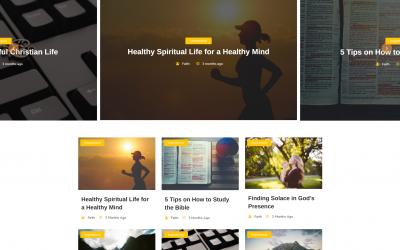 Free WordPress Theme: Faith Blog