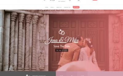 Free WordPress Theme: Happy Wedding Day