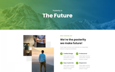 Free WordPress Theme: Posterity