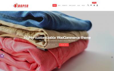 Free WordPress Theme: Shoper