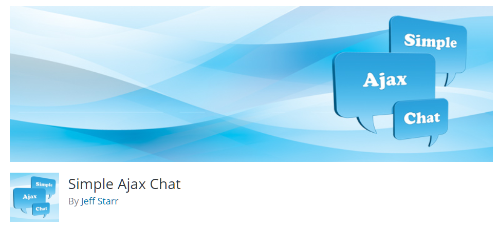 Free WordPress Plugin: Simple Ajax Chat