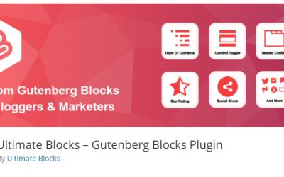 Free WordPress Plugin: Ultimate Blocks – Gutenberg Blocks Plugin