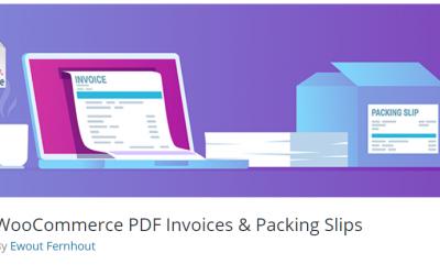 Free WordPress Plugin: WooCommerce PDF Invoices & Packing Slips