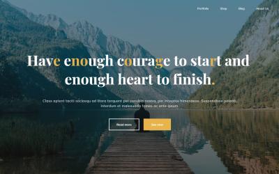 Free WordPress Theme: Bravada
