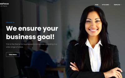 Free WordPress Theme: BusinessFocus
