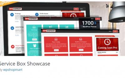 Free WordPress Plugin: Service Box Showcase