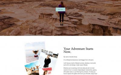 Free WordPress Theme: Travel Nomad