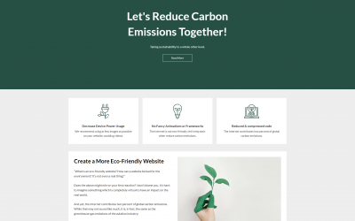 Free WordPress Theme: EcoCoded