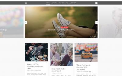 Free WordPress Theme: Lili Blog