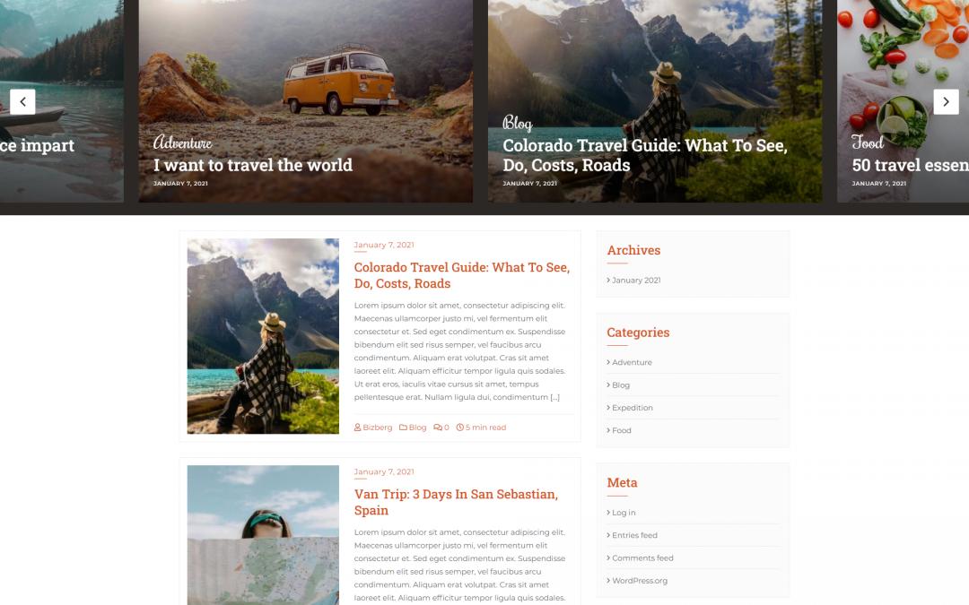 Free WordPress Theme: OMG Blog