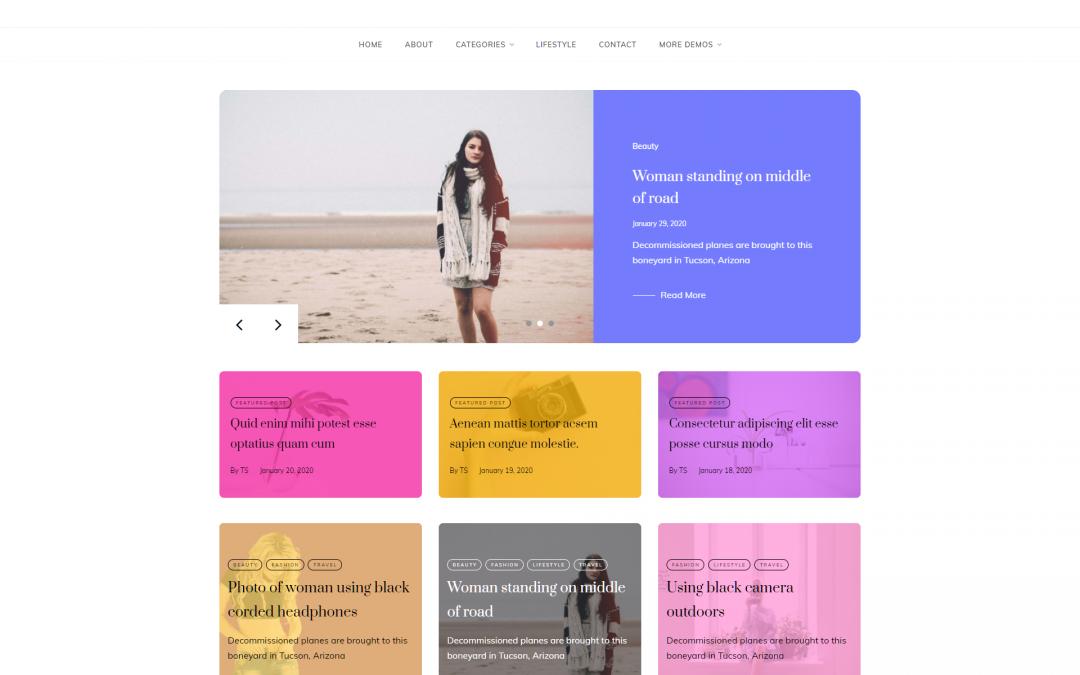 Free WordPress Theme: Parity