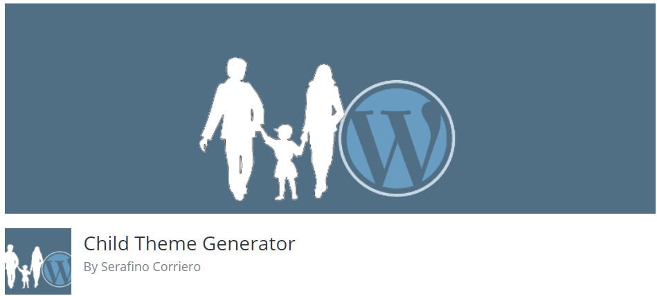 Free WordPress Plugin: Child Theme Generator