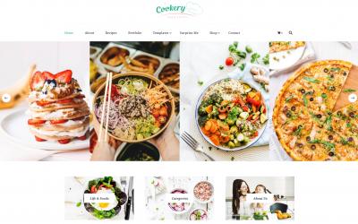 Free WordPress Theme: Cookery Lite