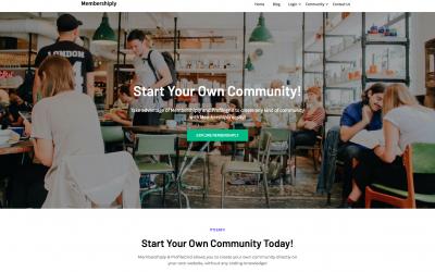 Free WordPress Theme: Membershiply