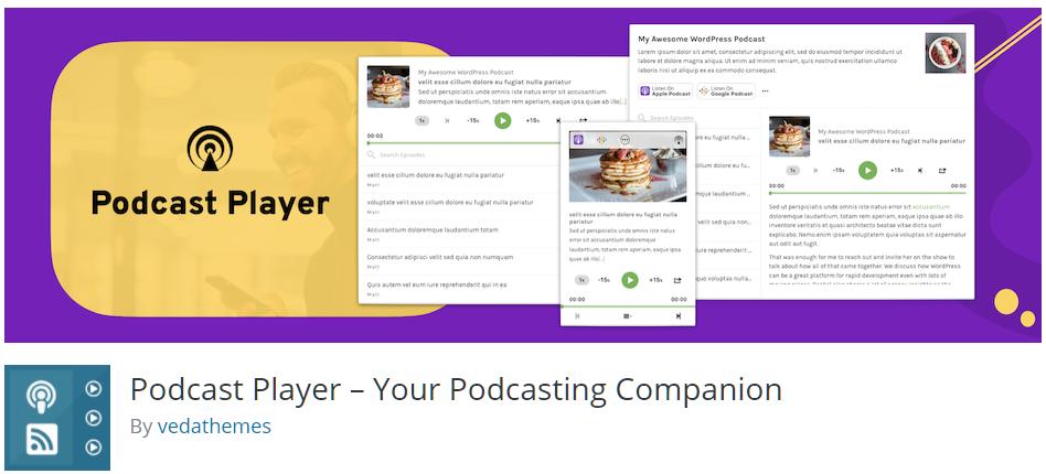 Free WordPress Plugin: Podcast Player – Your Podcasting Companion