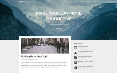 Free WordPress Theme: Wordly