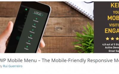 Free WordPress Plugin: WP Mobile Menu – The Mobile-Friendly Responsive Menu
