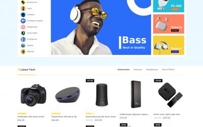 Free WordPress Theme: Big Store