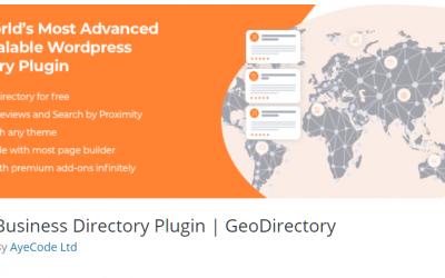 Free WordPress Plugin: Business Directory Plugin   GeoDirectory