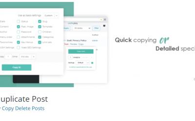 Free WordPress Plugin: Duplicate Post