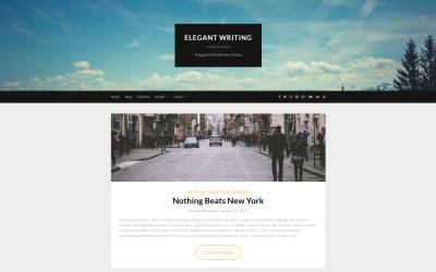 Free WordPress Theme: ElegantWriting
