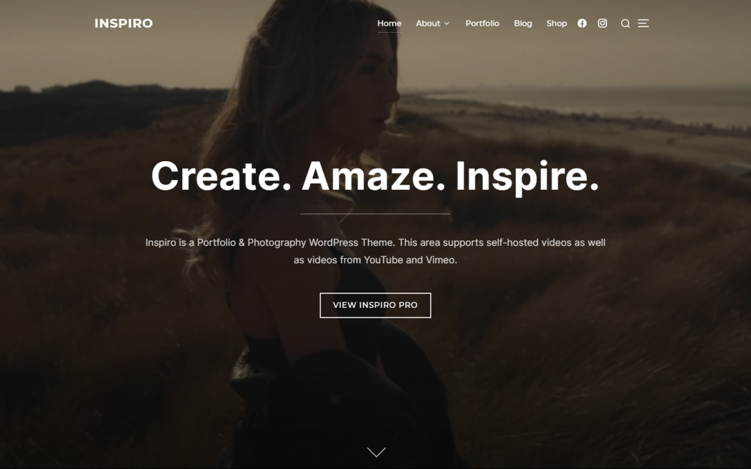 Free WordPress Theme: Inspiro