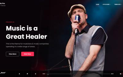 Free WordPress Theme: MusicFocus