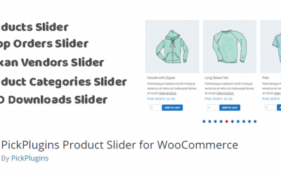 Free WordPress Plugin: PickPlugins Product Slider for WooCommerce