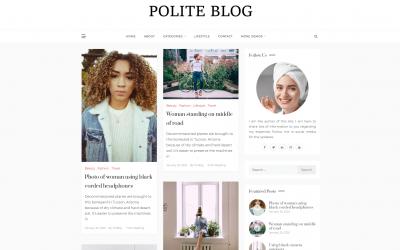 Free WordPress Theme: Polite Blog