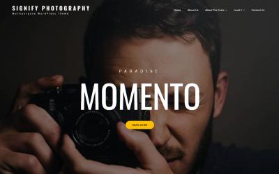 Free WordPress Theme: Signify Photography