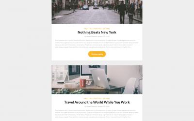Free WordPress Theme: SimpleBlogily