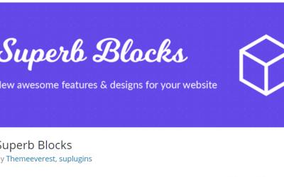 Free WordPress Plugin: Superb Blocks
