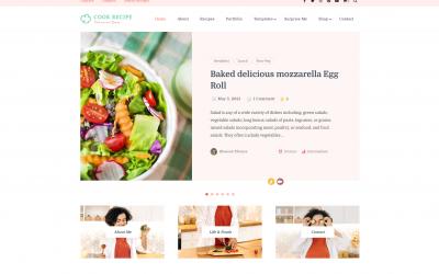 Free WordPress Theme: Cook Recipe