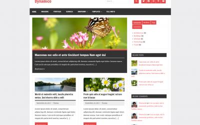 Free WordPress Theme: Dynamico