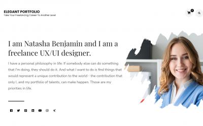 Free WordPress Theme: Elegant Portfolio