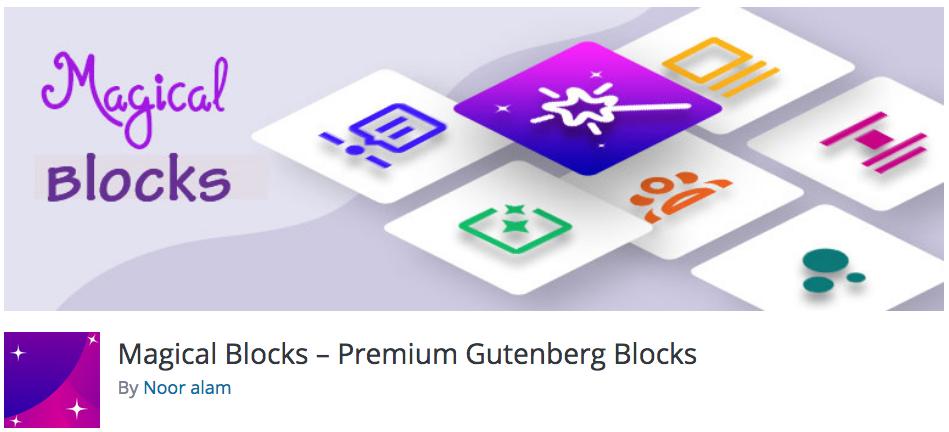 Free WordPress Plugin: Magical Blocks – Premium Gutenberg Blocks