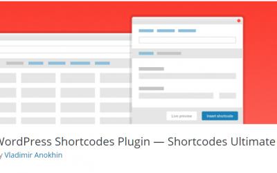 Free WordPress Plugin: WordPress Shortcodes Plugin — Shortcodes Ultimate
