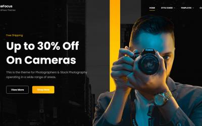 Free WordPress Theme: eCommerceFocus