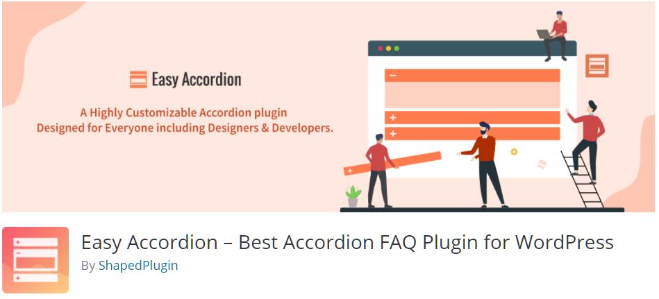 Free WordPress Plugin: Easy Accordion – Best Accordion FAQ Plugin for WordPress
