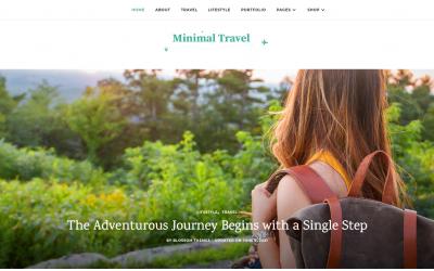 Free WordPress Theme: Minimal Travel