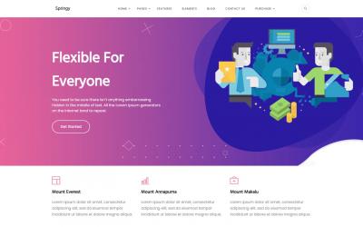 Free WordPress Theme: Springy