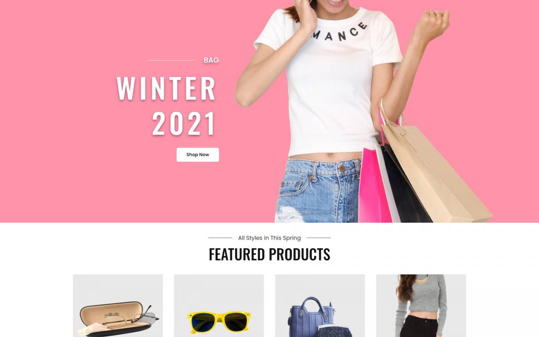 Free WordPress Theme: Catch Shop