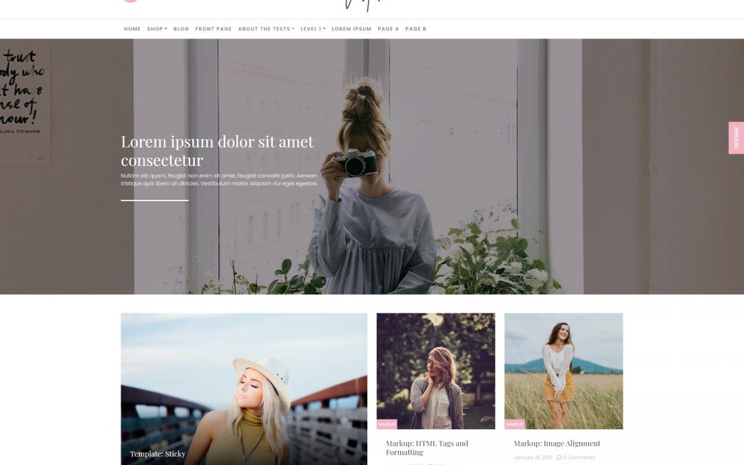 Free WordPress Theme: ClubFashion