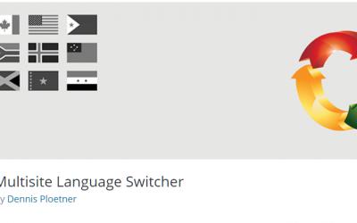 Free WordPress Plugin: Multisite Language Switcher