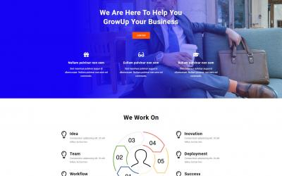 Free WordPress Theme: Popular Business